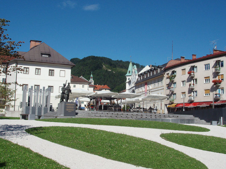 Шахтерский город Идрия - достопримечательности Словении