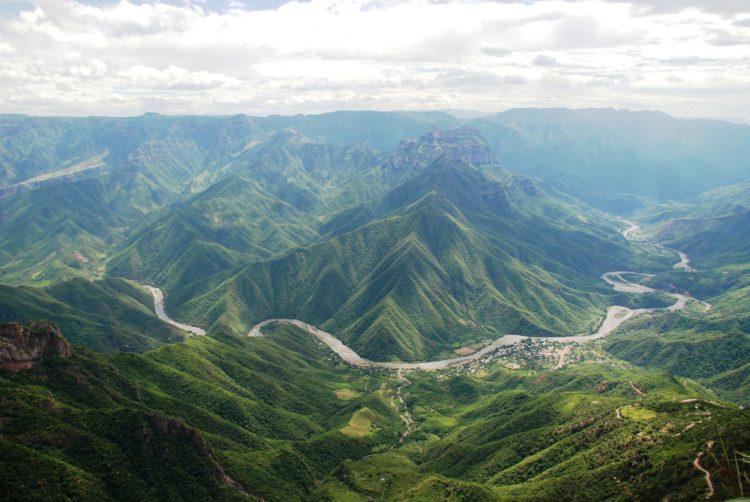 Медный каньон - достопримечательности Мексики