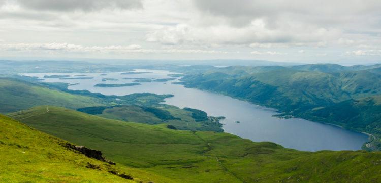 Озеро Лох-Ломонд - достопримечательности Шотландии