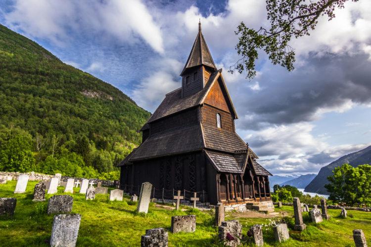 Ставкирка в Урнесе - достопримечательности Норвегии