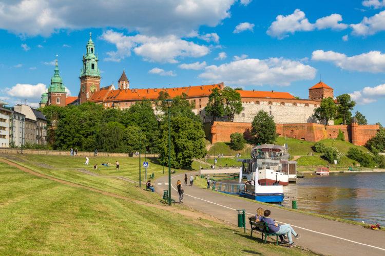 Вавельский замок - достопримечательности Польши