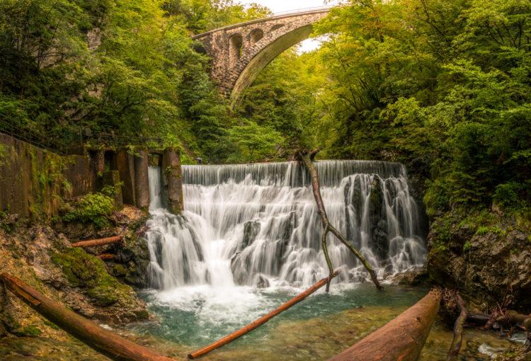 Каньон Винтгар - достопримечательности Словении