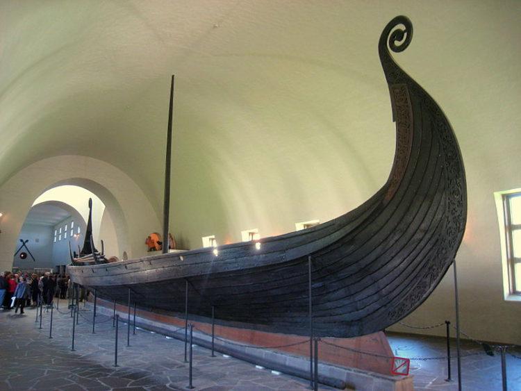 Музей кораблей викингов - достопримечательности Норвегии