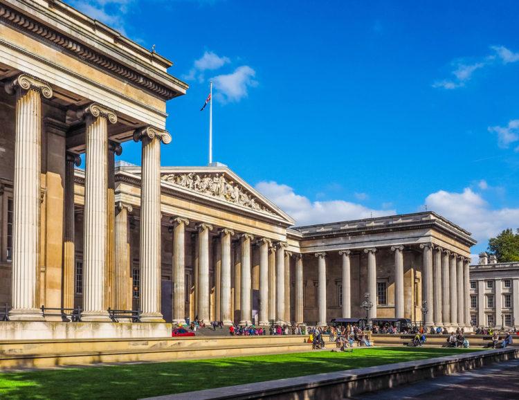 Британский музей - достопримечательности Англии