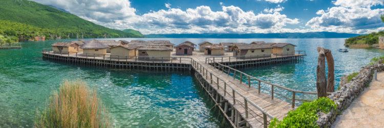 Музей на воде «Залив на костях» - достопримечательности Македонии