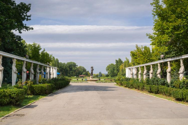 Парк Херастрау - достопримечательности Румынии