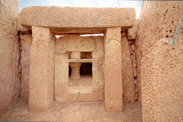 Мегалитический храмовый комплекс Мнайдра - достопримечательности Мальты
