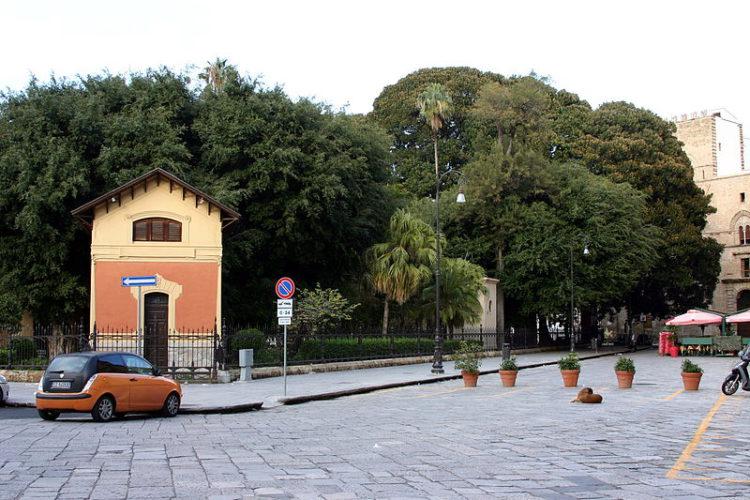 Морская площадь - достопримечательности Палермо