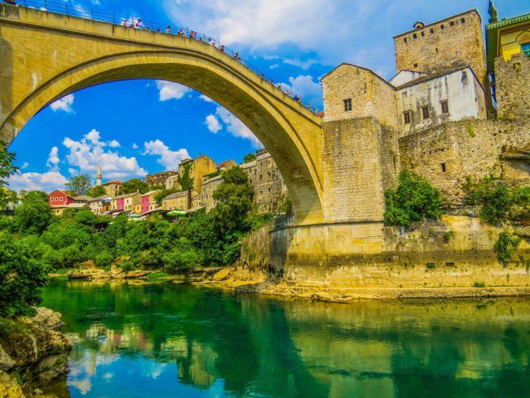 Старый мост - достопримечательности Боснии и Герцеговины