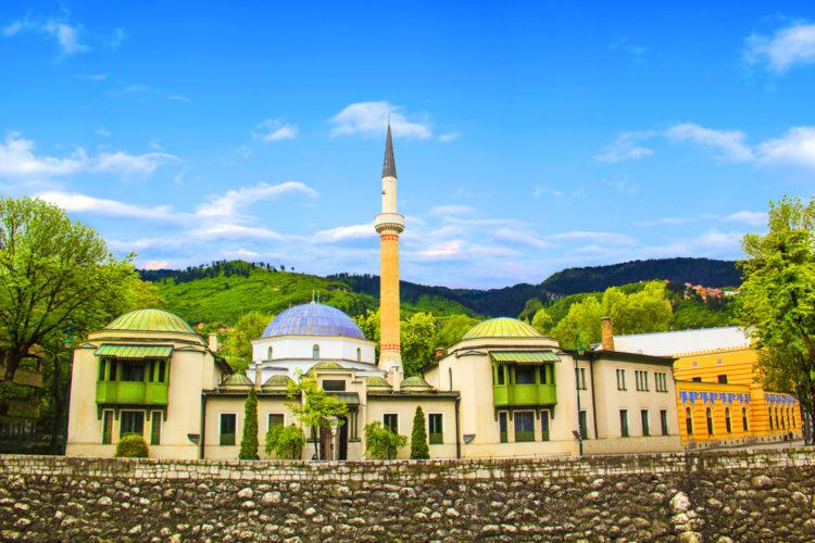 Царская мечеть в Сараево - достопримечательности Боснии и Герцеговины