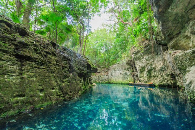 Парк Шкарет - достопримечательности Мексики