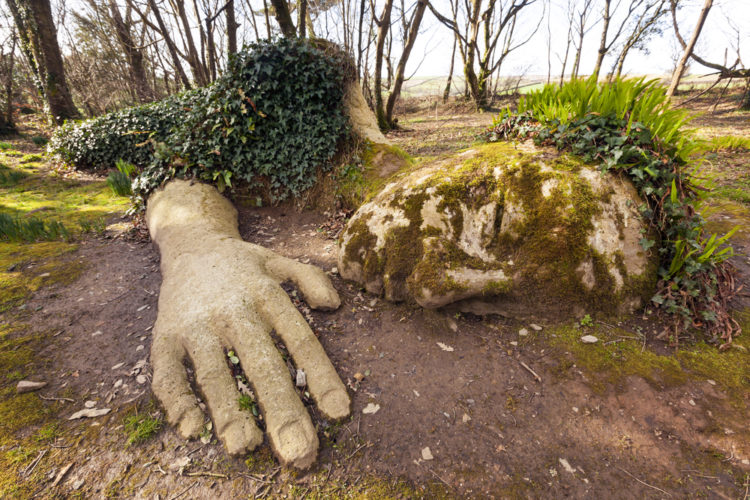 Затерянные сады Хелигана - достопримечательности Англии