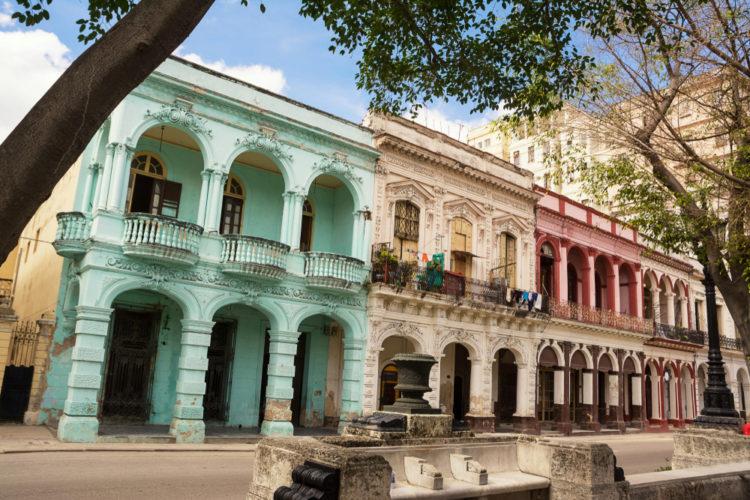 Бульвар Прадо - достопримечательности Кубы