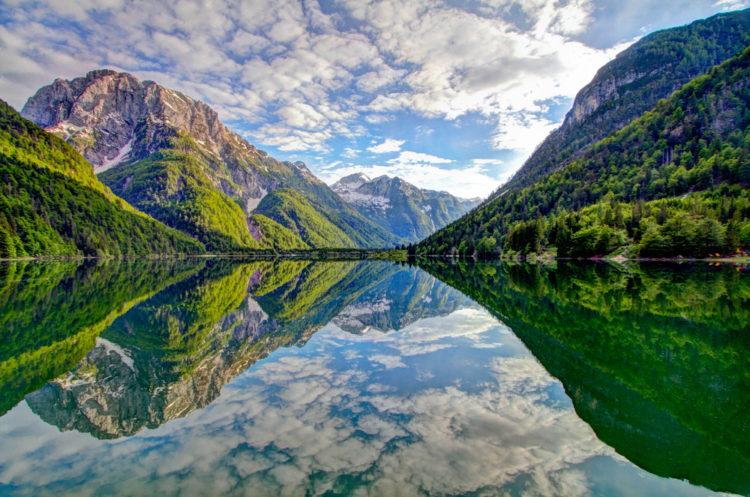 Долина реки Соча - достопримечательности Словении