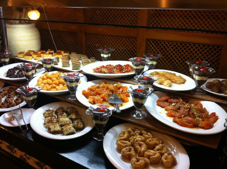 Турецкая кухня в лучших 5 звездначных отелях Алании, Турция