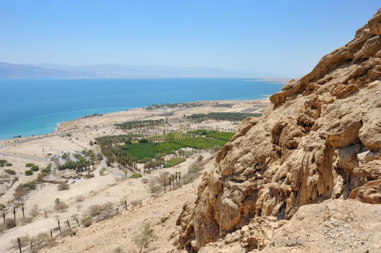Эйн-Геди - мёртвое море