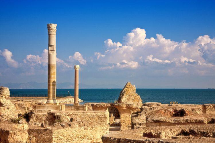Древний город Карфаген - достопримечательности Туниса