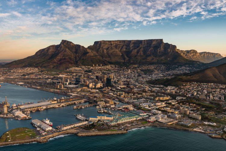 Столовая гора - достопримечательности ЮАР