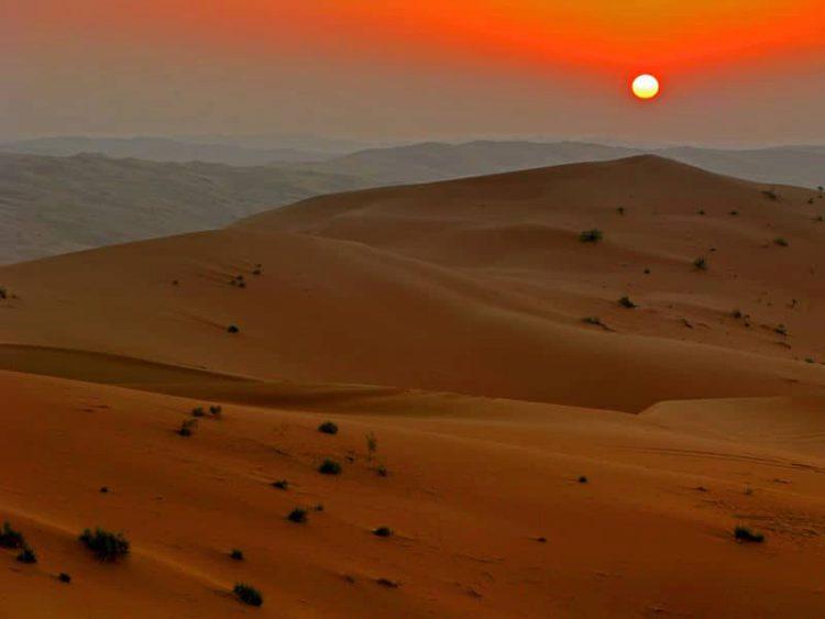 Пустыня Руб-эль-Хали - Что посмотреть в Саудовской Аравии