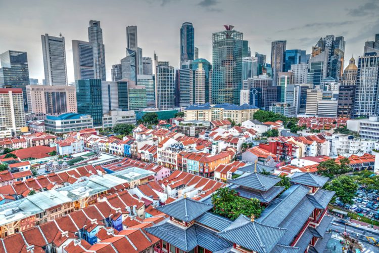 Район Чайна-таун (Chinatown) - достопримечательности Сингапура