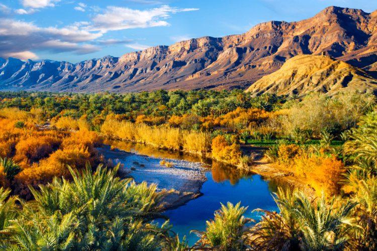 Долина реки Драа - достопримечательности Марокко