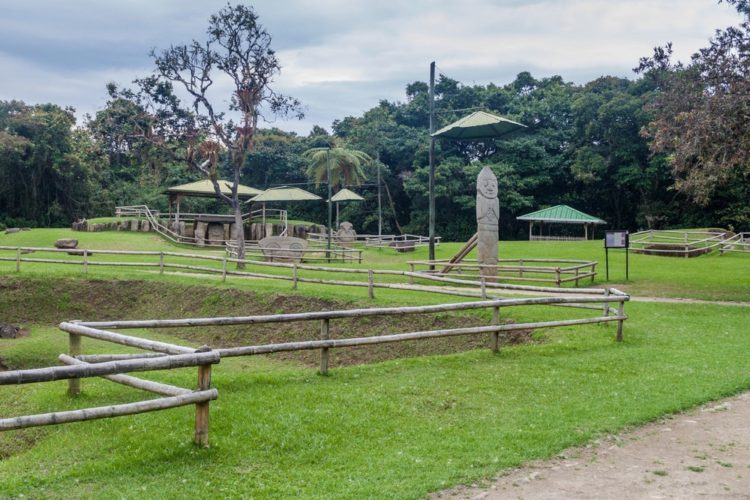 Парк каменных скульптур Сан-Агустин - достопримечательности Колумбии