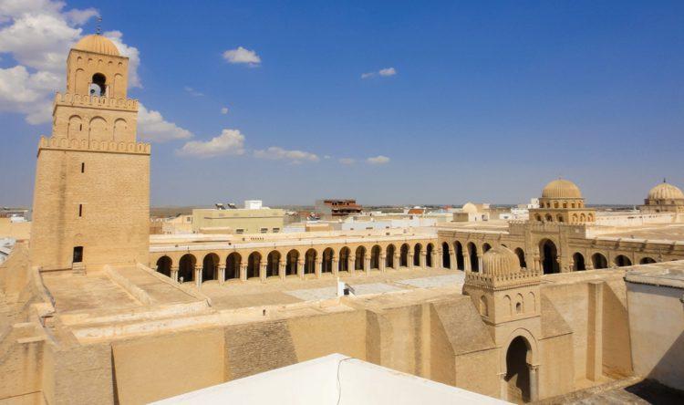 Мечеть Укба - достопримечательности Туниса
