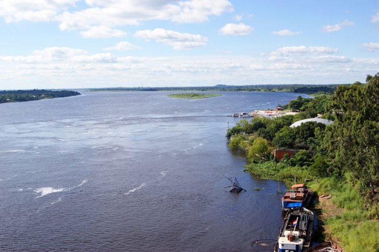 Река Рио-Парагвай - достопримечательности Парагвая