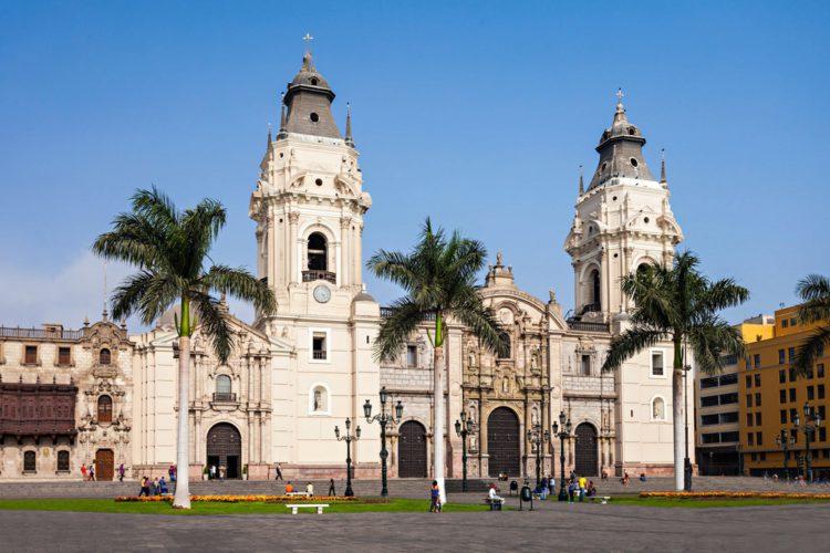 Кафедральный собор Лимы - достопримечательности Перу