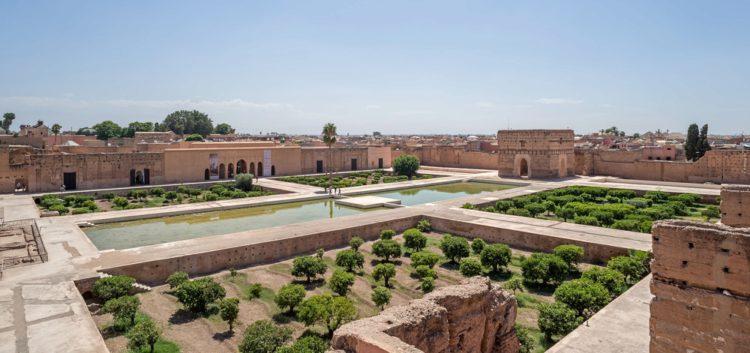 Дворец Эль-Бади - достопримечательности Марокко