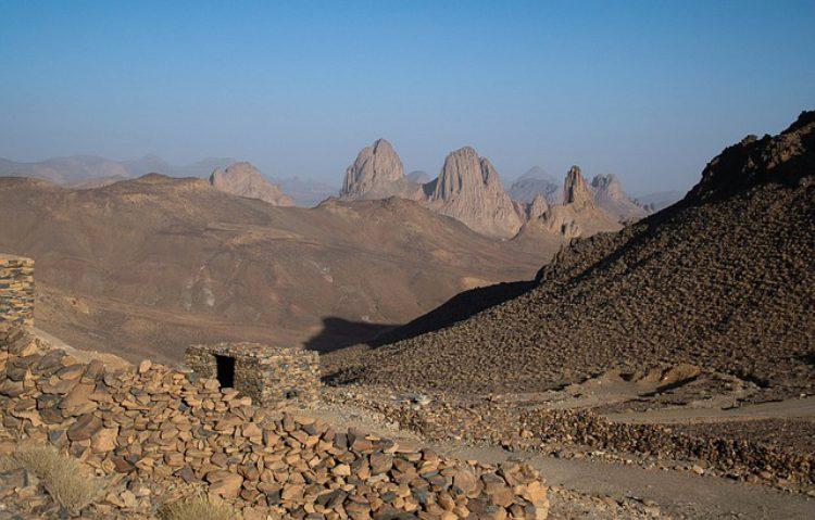 Нагорье Ахаггар - достопримечательности Алжира