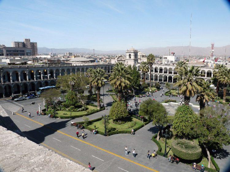 Исторический центр Арекипа - достопримечательности Перу