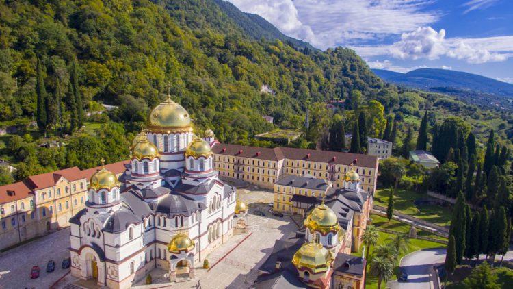 Новоафонский монастырь - достопримечательности Абхазии