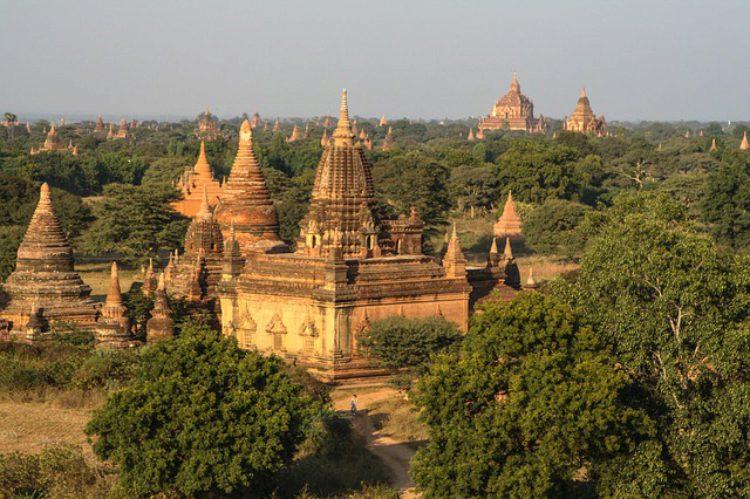 Храмы в Багане (Паган) - достопримечательности Мьянмы