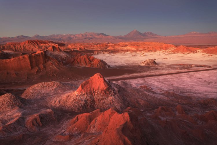 Валье-де-ла-Луна - достопримечательности Чили
