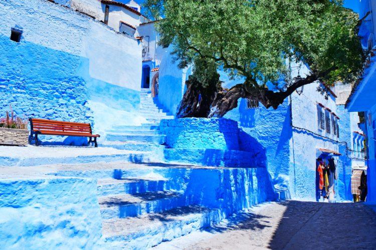 Шавен (Шефшауен) - достопримечательности Марокко
