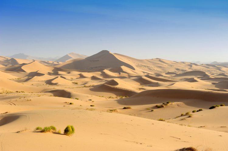 Пустыня Сахара -Что посмотреть в Алжире