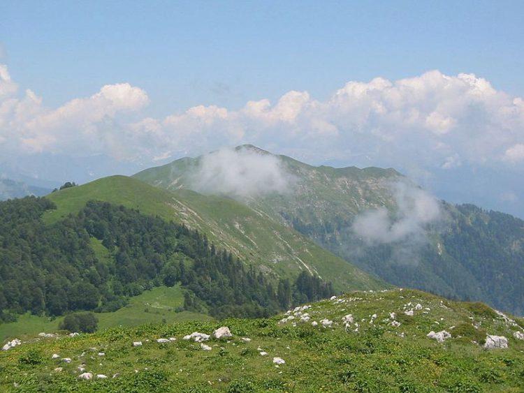Гора Мамдзышха - достопримечательности Абхазии
