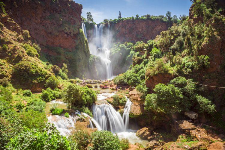 Водопад Узуд - достопримечательности Марокко