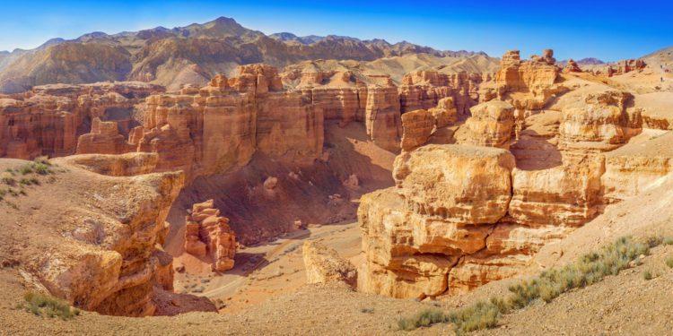 Чарынский каньон - Что посмотреть в Казахстане