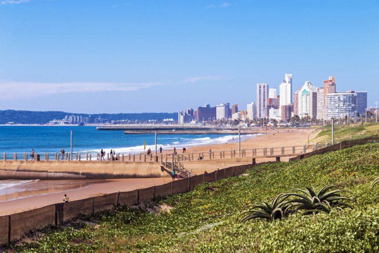 Пляж Золотая Миля - Что посмотреть в ЮАР