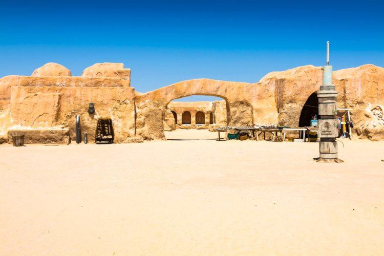 Остатки декораций к «Звездным Воинам» - Что посмотреть в Тунисе