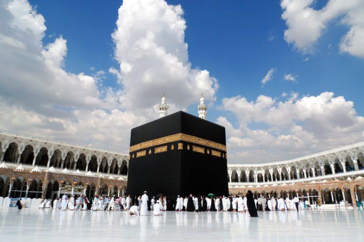 Кааба - куб - достопримечательности Саудовской Аравии