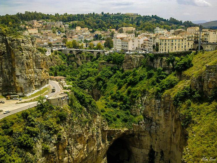 Город Константина - достопримечательности Алжира