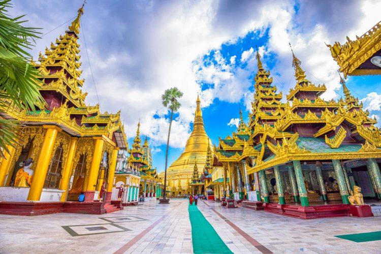 Пагода Шведагон - достопримечательности Мьянмы