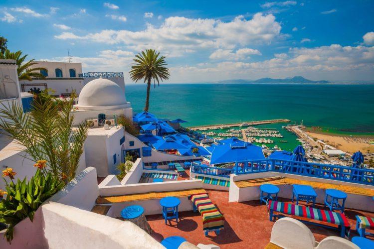 Город Сиди-Бу-Саид - достопримечательности Туниса