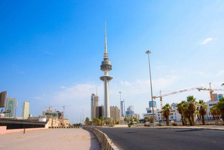 Башня-телевышка - достопримечательности Кувейта