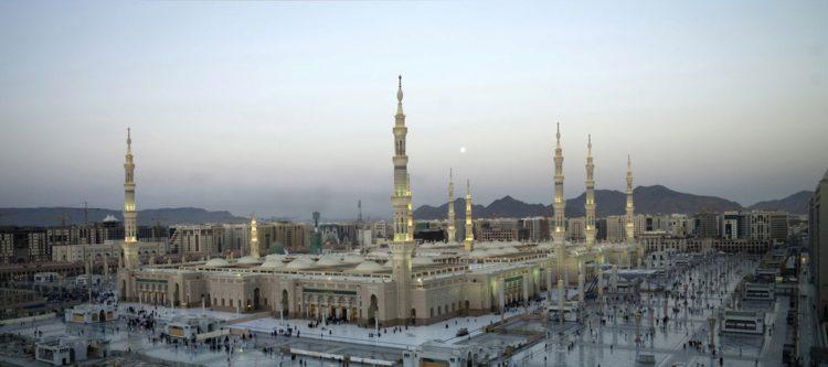 Мечеть ан-Набави - достопримечательности Саудовской Аравии