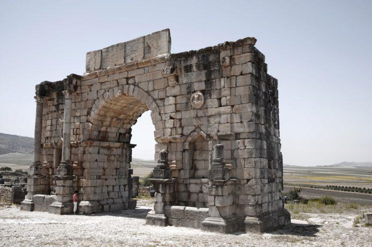 Археологические памятники Волюбилиса - достопримечательности Марокко