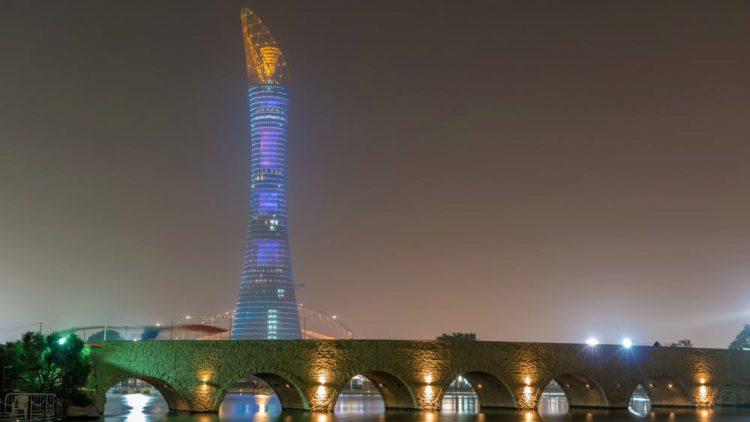 Башня Эспайр Тауэр - достопримечательности Катара